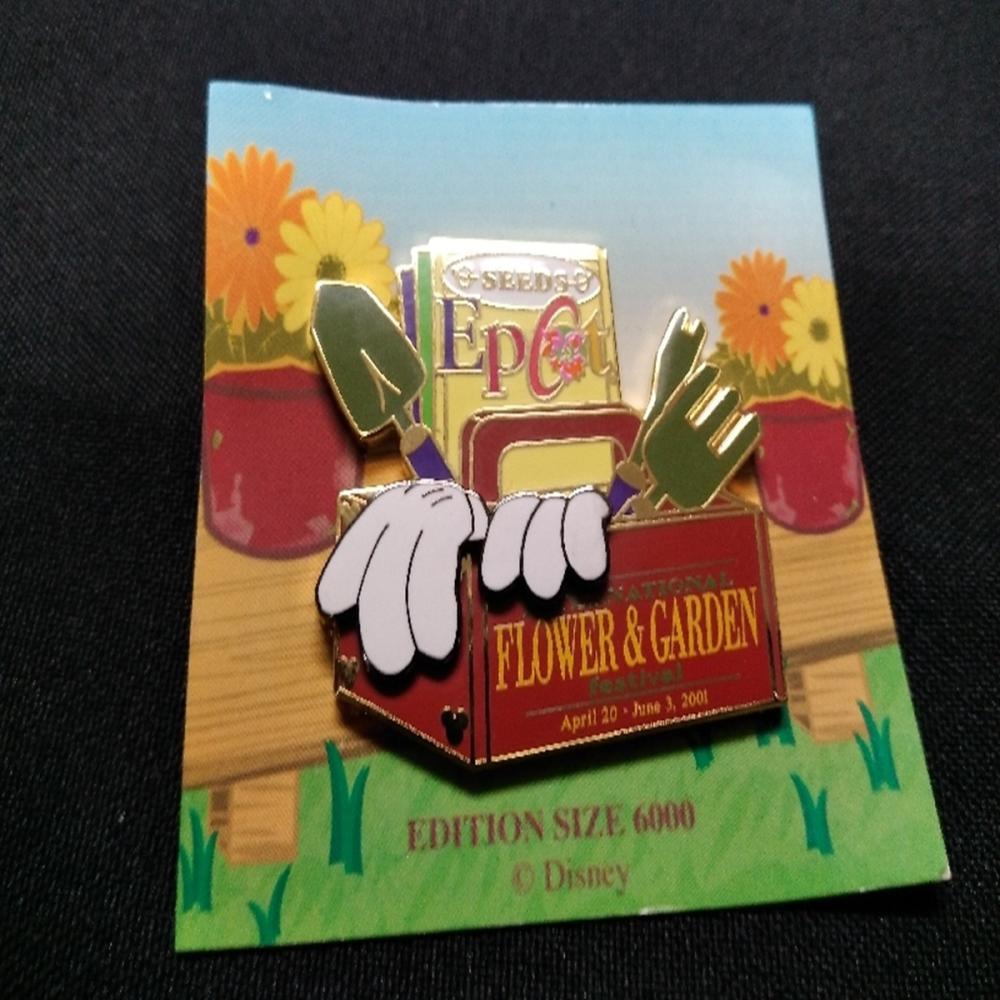 WDW 2001 Epcot Flower and Garden Festival Pin