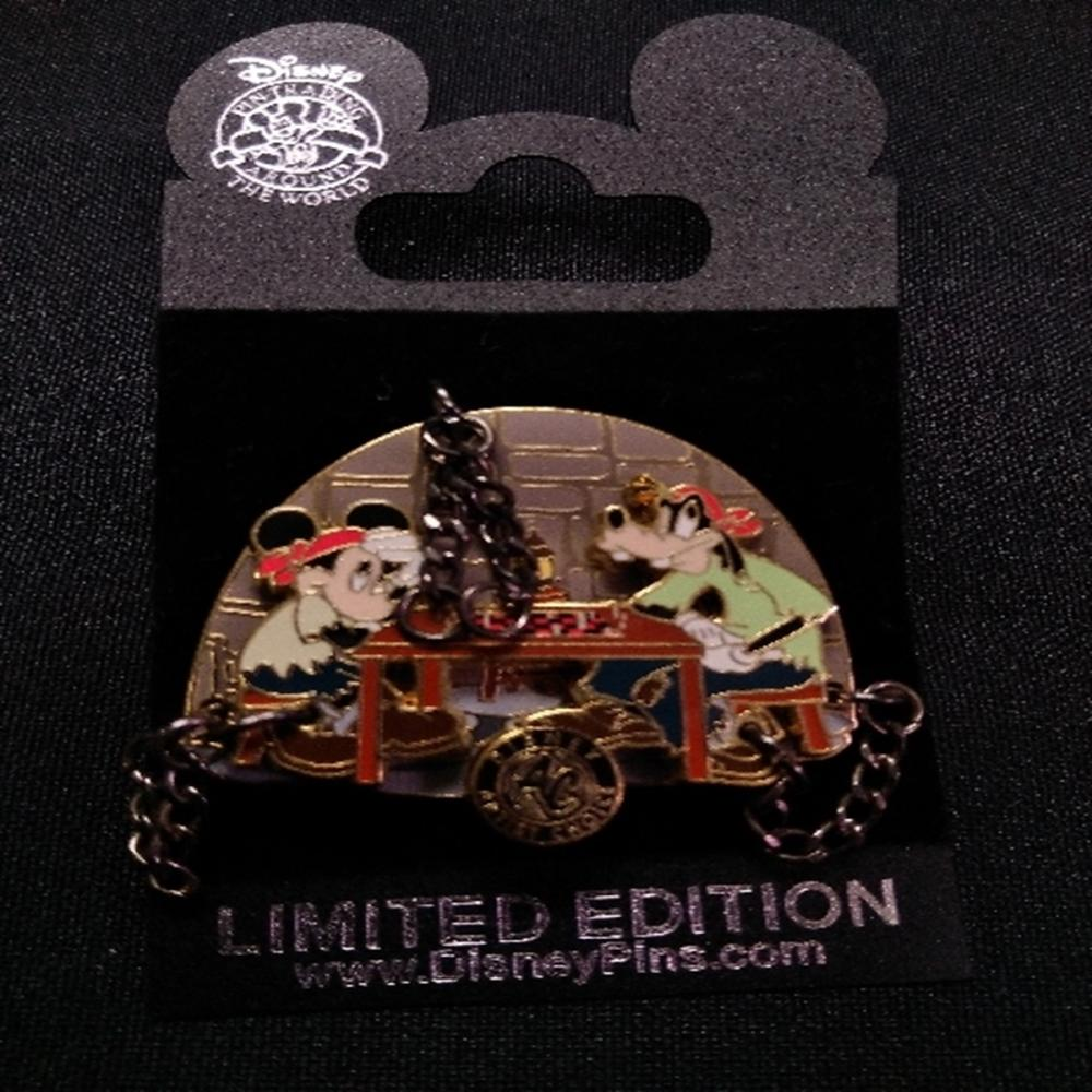 WDW 2007 Artists Choice Mickey and Goofy LE Pin