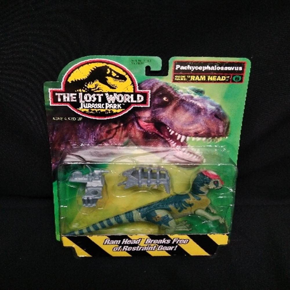 1996 The Lost World Jurassic Park Pachycephalosaur