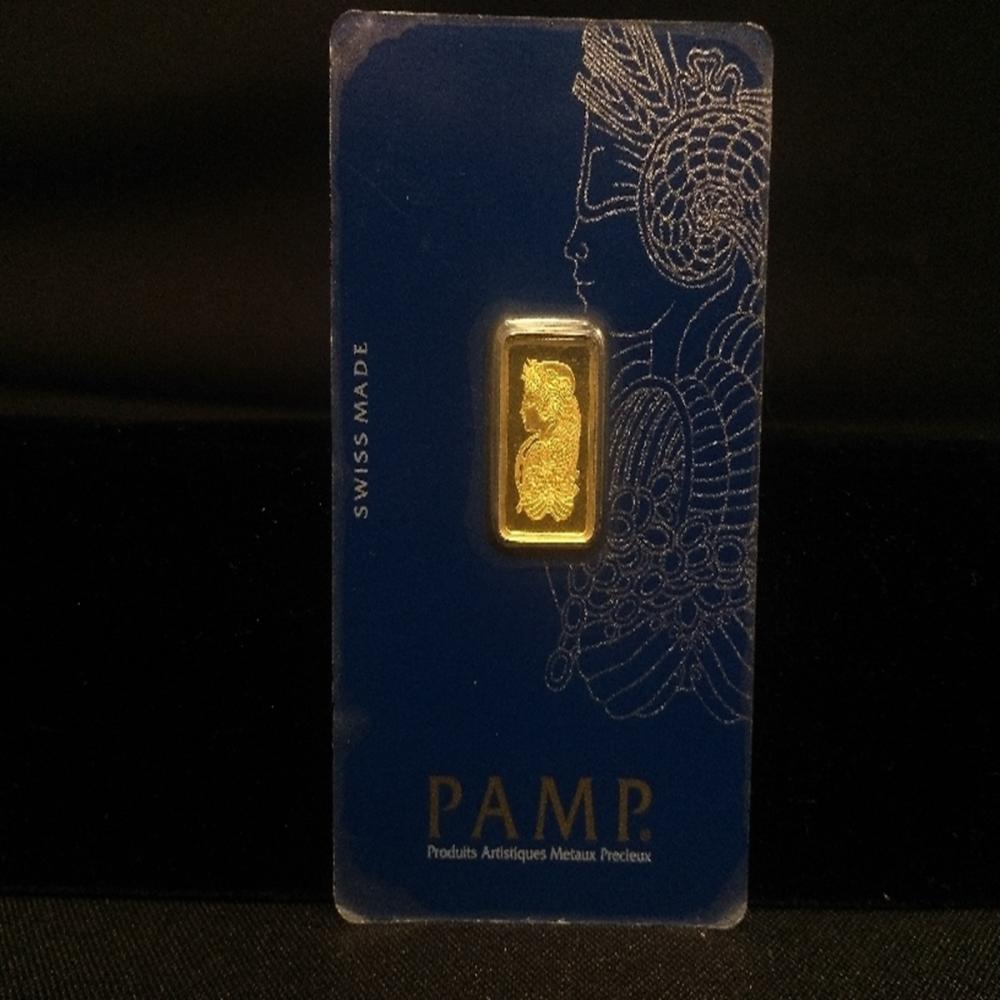 2.5 Gram Registed Gold 150Bar PAMP