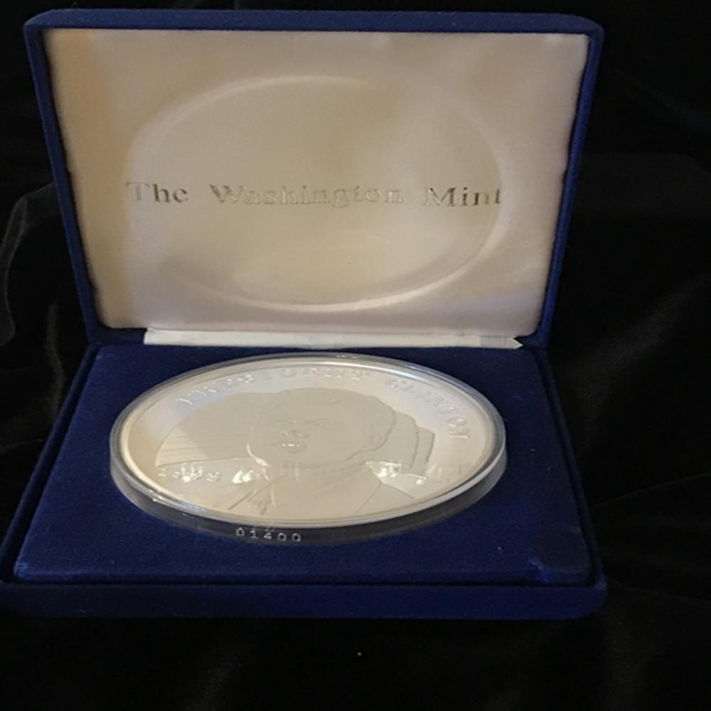16 Ounce Silver Coin from the Washington Mint