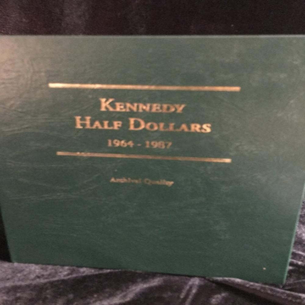 Littleton Coin Binder for Kennedy Halves