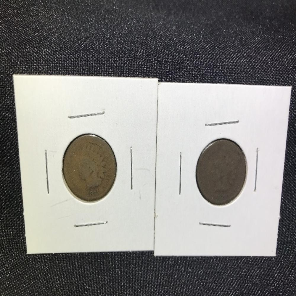 Key Date Indian Head Cents 1871 & 1872