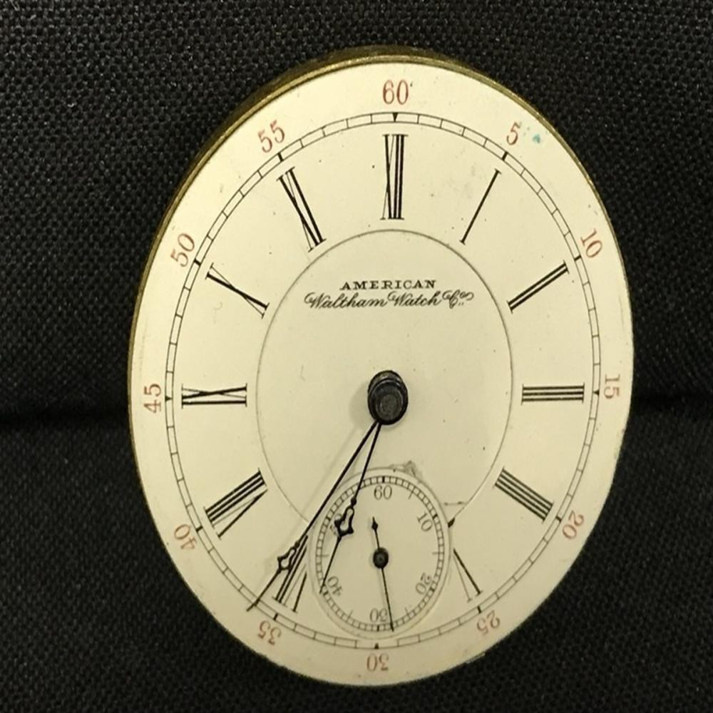 Vintage Walthham Watch Co. Pocket watch mechanics