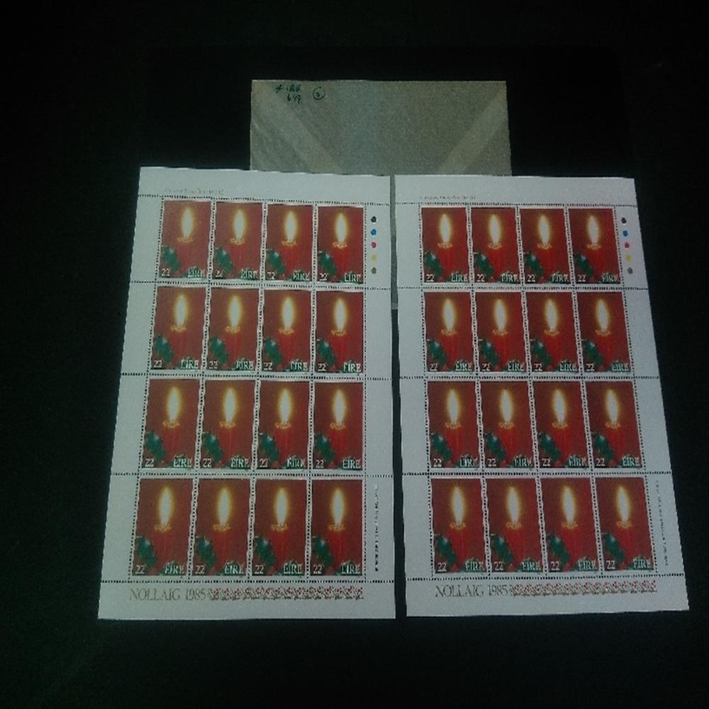 Philatelic Ireland: #649a Christmas Bonus Sheet