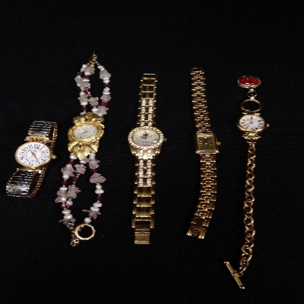 Lot of (5) Womens Watches