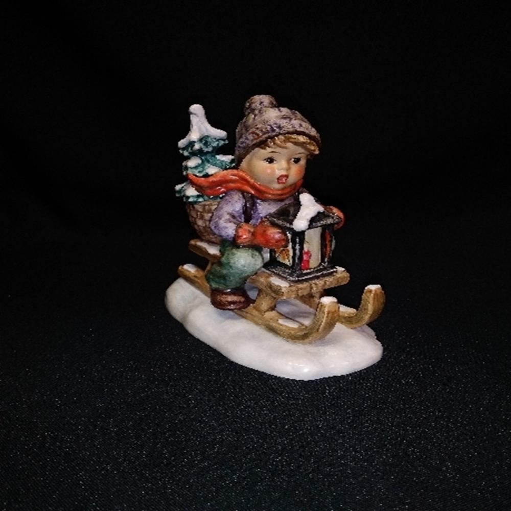 "Hummel Goebel #396""Ride Into Christmas"" TMK 5 LG"