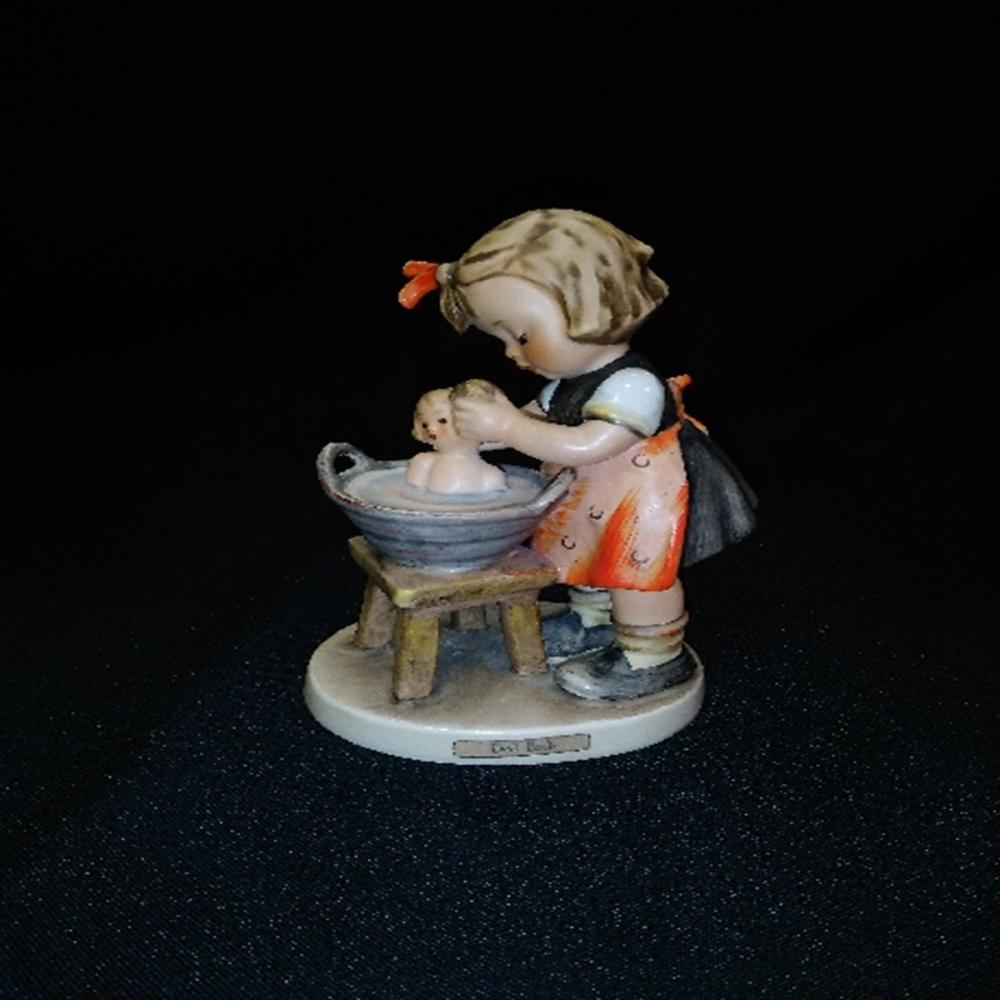"Hummel Goebel #319 ""Doll Bath"" TMK 4"