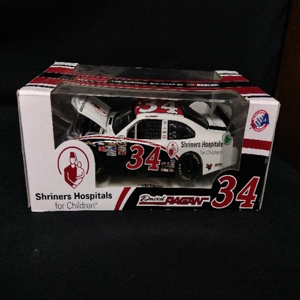 2012 #34 David Ragan Signed Shriners Hospitals Car