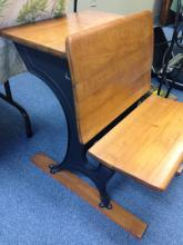 Lot 352: Antique Childs School Desk-Fully Restored-Well Done!