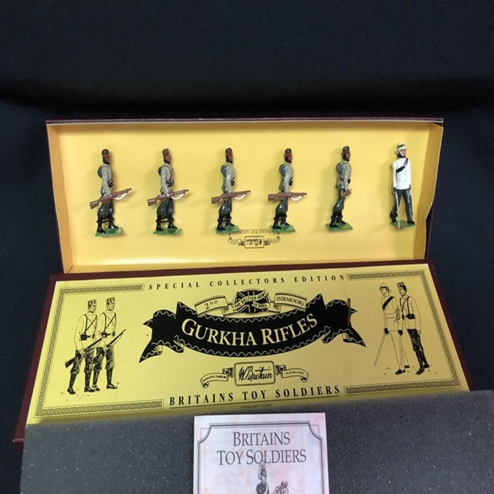 Gurkha Rifles Britain's Toy Soldiers #8841 Set