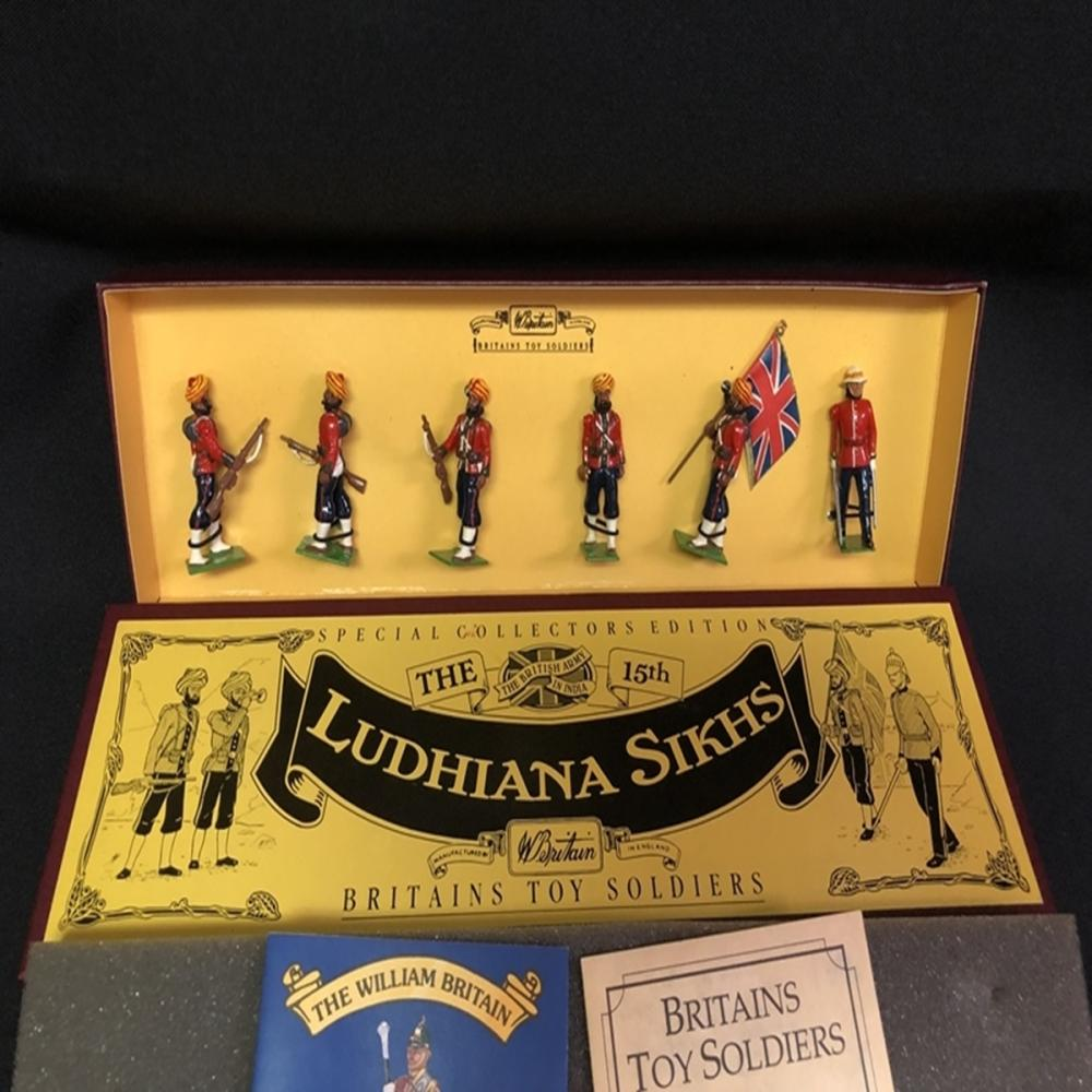 Ludhiana Sikhs Britain's Toy Soldiers #8832 Set