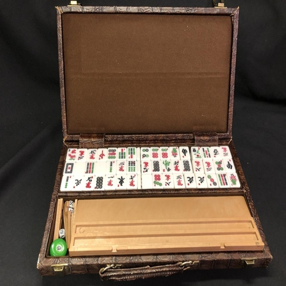 Vintage 153 Tile Japanese Mah-Jong Game