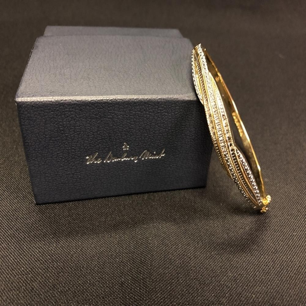 Danbury Mint Diamond Forever Bangle