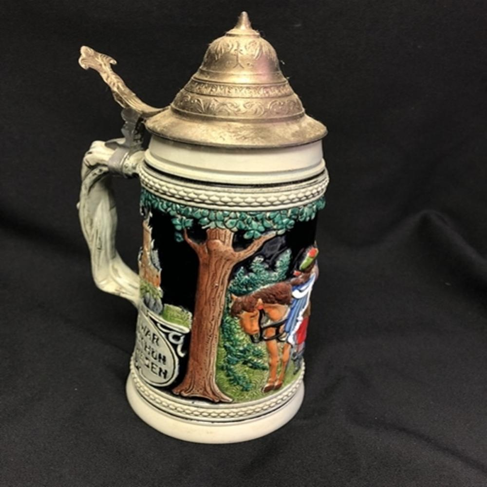 "Original Thewalt Western Germany Stein 11.25"" Tall"