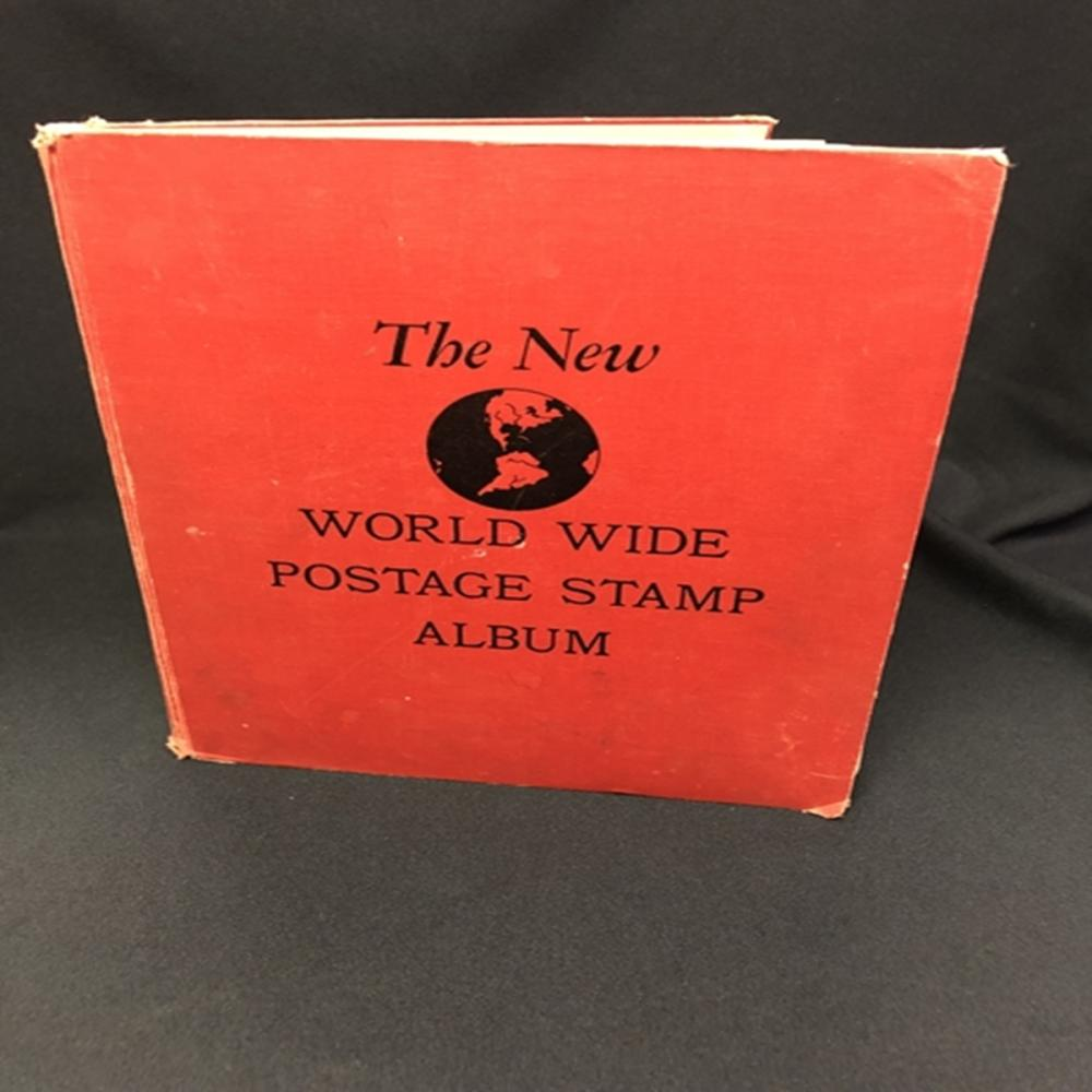 The New World Wide Postage Stamp Album