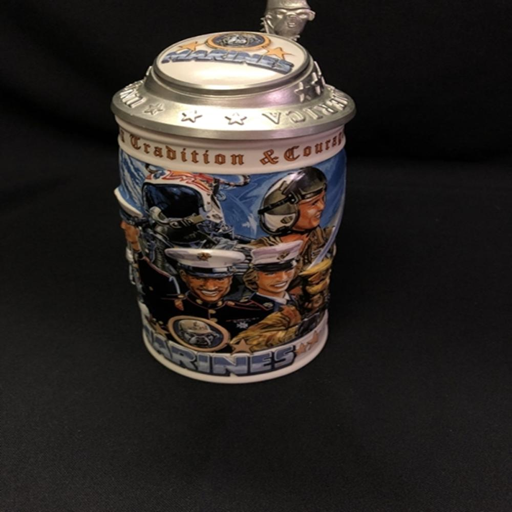 Budweiser Honoring Tradition/Courage Marines Stein