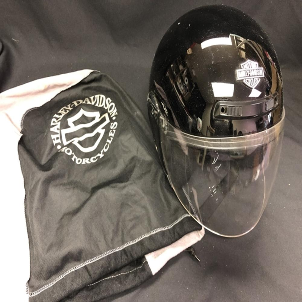 Harley Davidson Helmet Size S with HD Cloth Bag