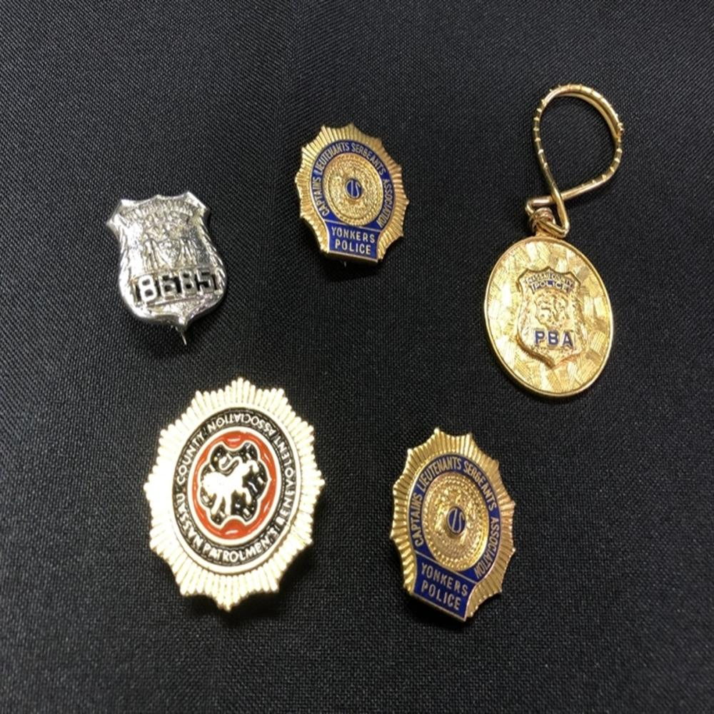 New York Police Badge and Pin Lot