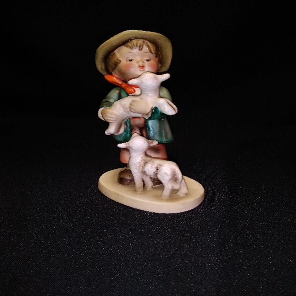 "Hummel Goebel #64 ""Shepherd's Boy"" TMK 2 LARGE U"