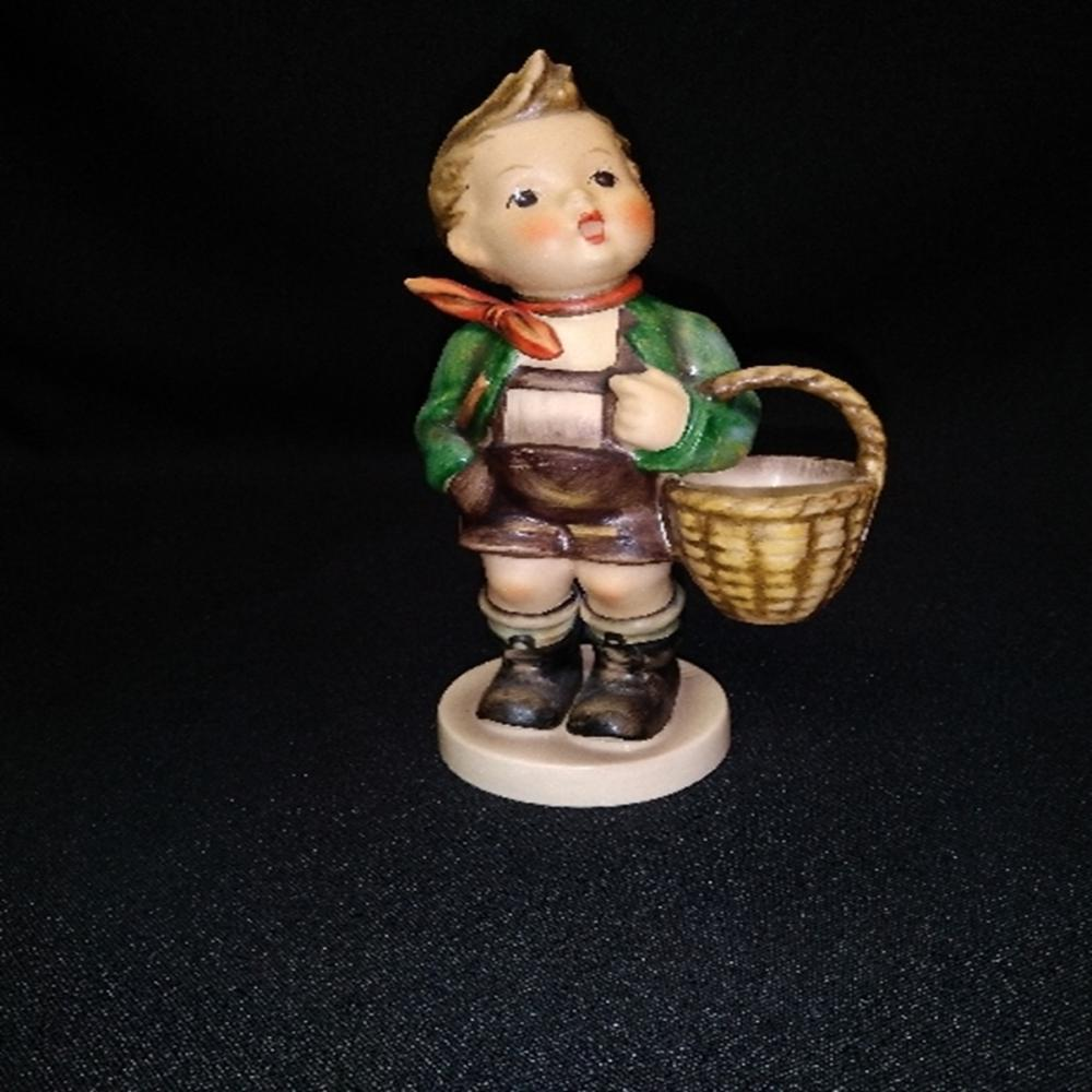 "Hummel Goebel #51/0 ""Village Boy"" TMK 5 LARGE Up"