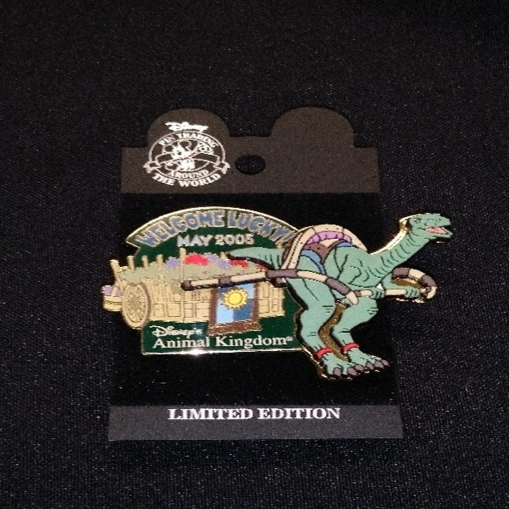 Walt Disney World Lucky The Dinosaur Pin - Retired