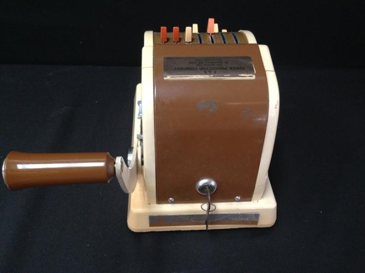 check printing machine