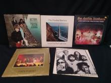 (5) Vtg. Vinyl Albums - Deep Purple Stones ++