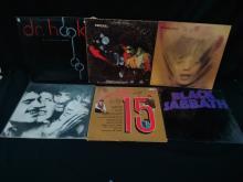 (6) Vtg. Vinyl Albums Black Sabbath Stones ++
