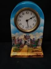 N.H.P. Windsor Castle w/Beefeaters Mantle Clock