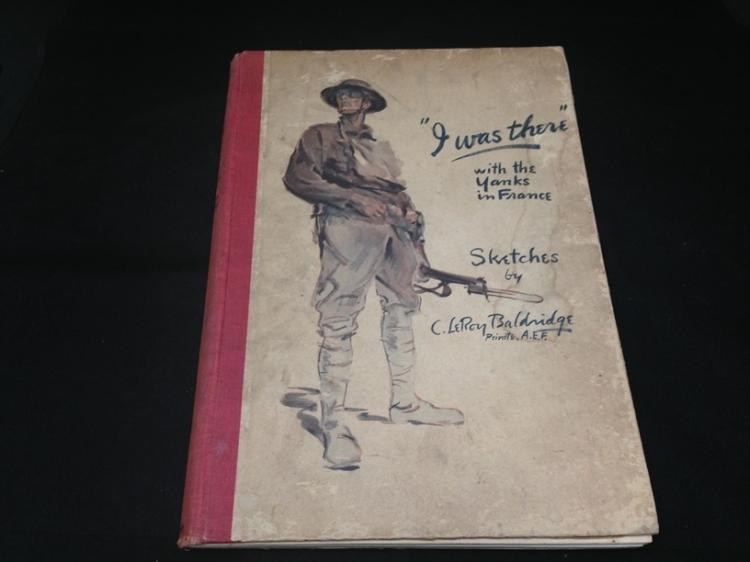 I Was There Yanks in France 1919 Book by Baldridge
