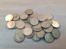 Lot of (40) Canadian Silver Dimes