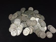 Lot of (150) Roosevelt Silver Dimes