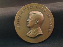 John Fitzgerald Kennedy Inaugural Bronze