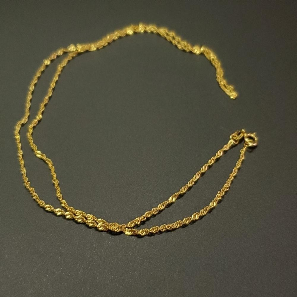 18 Karat Yellow Gold Chain 20""