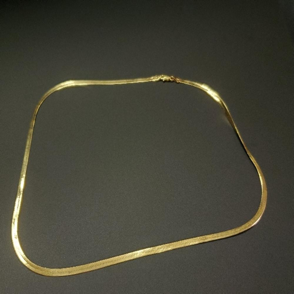"14 Karat Yellow Gold 18"" Chain Necklace"
