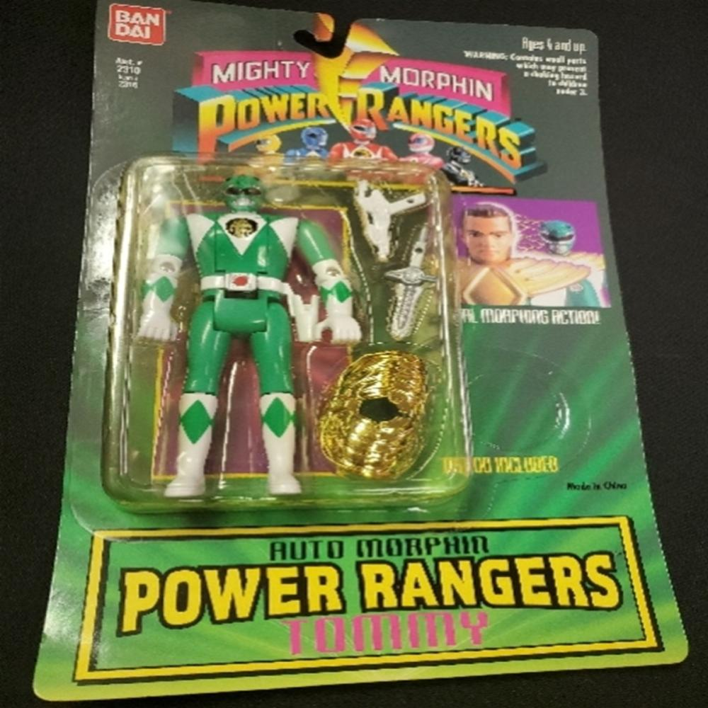 Mighty Morphin Power Rangers Morphin Tommy