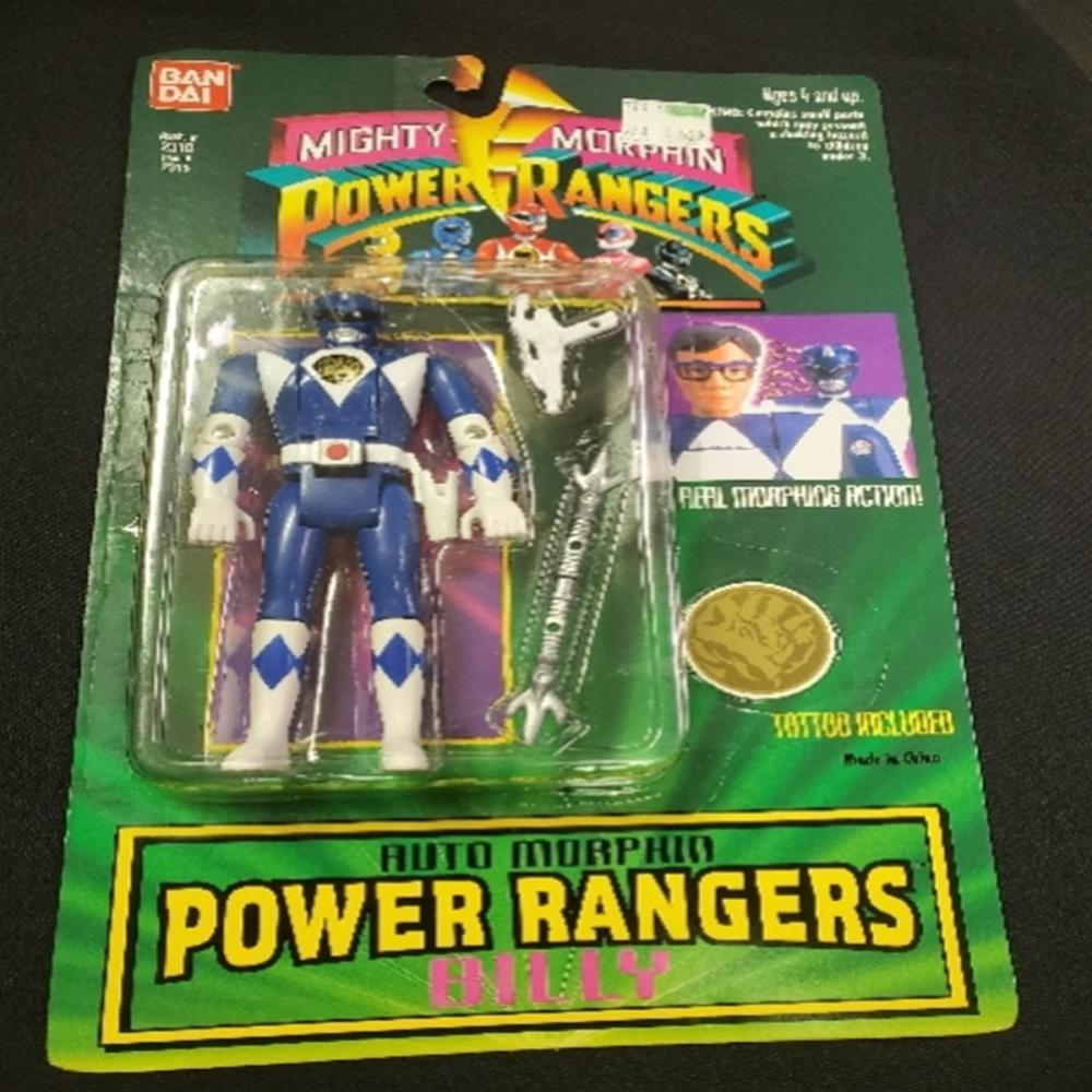 Mighty Morphin Power Rangers Morphin Billy