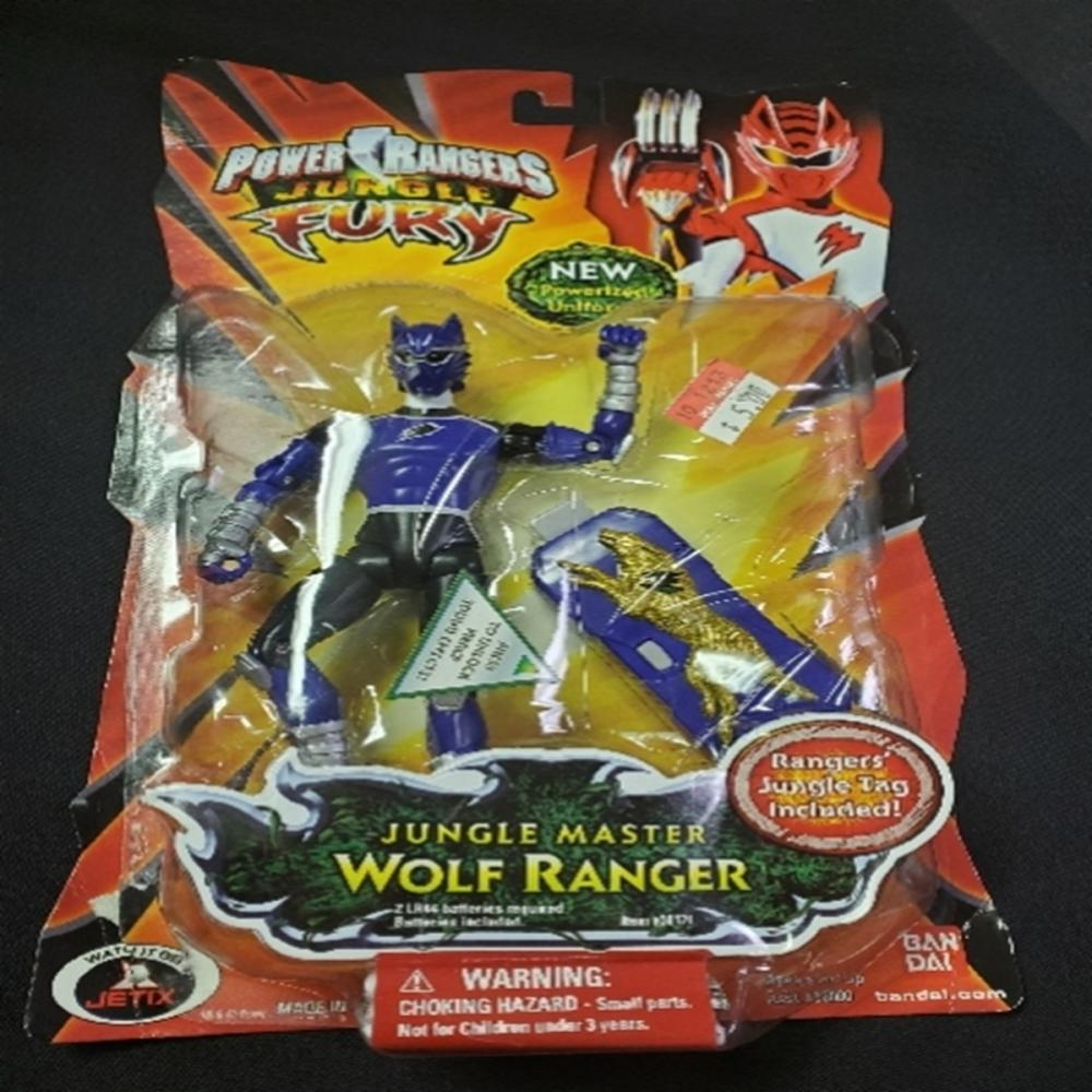 Power Rangers Jungle Fury Jungle Master Wolf Rangr