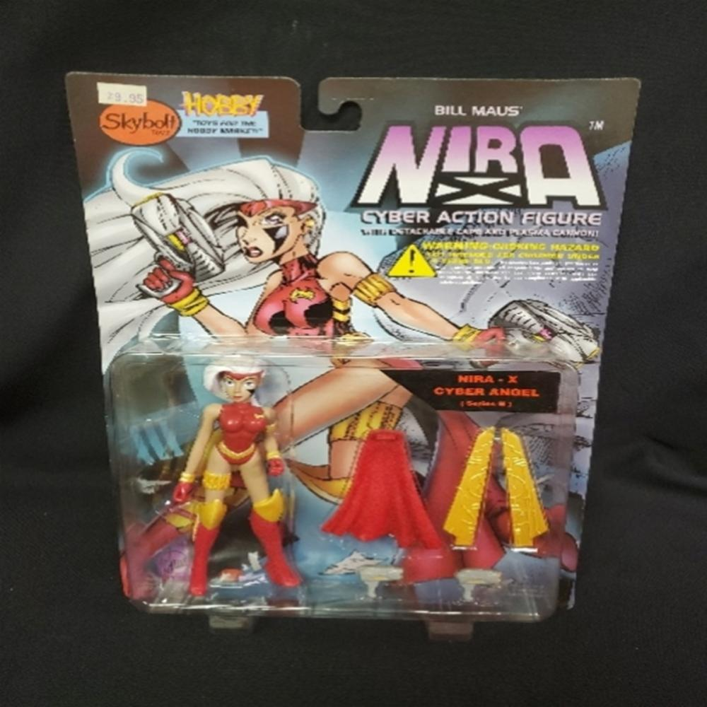 1997 Bill Maus' Nira - X Cyber Angel Figure NIP