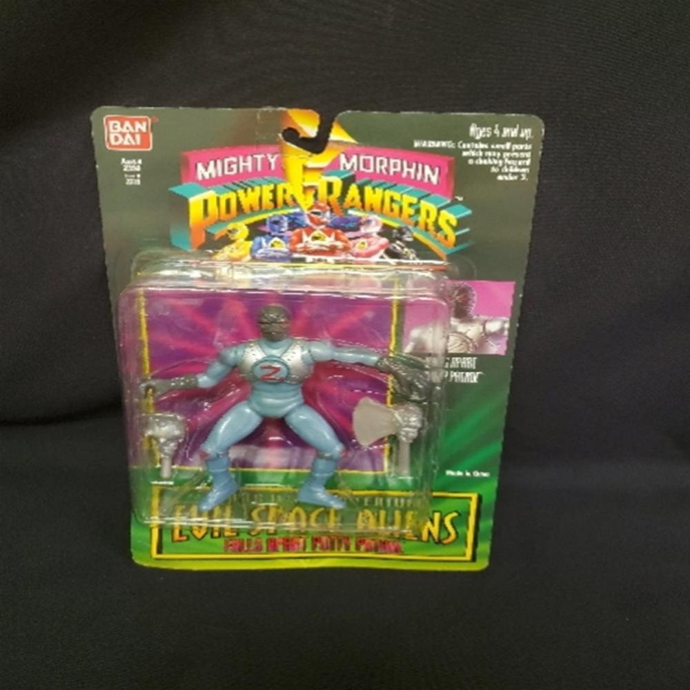 Mighty Morphin Power Rangers Evil Space Aliens