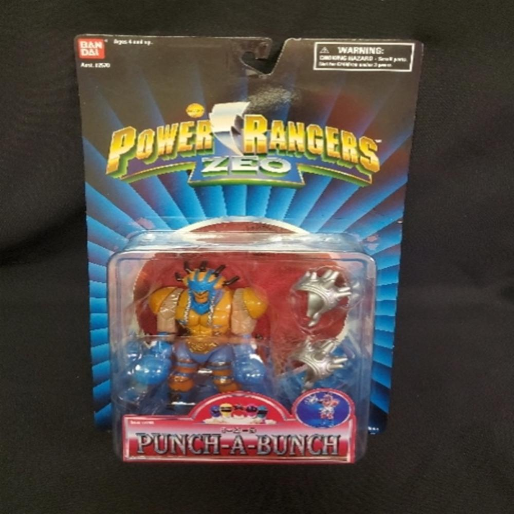 Power Rangers Zeo 1-2-3 Punch-A-Bunch RARE