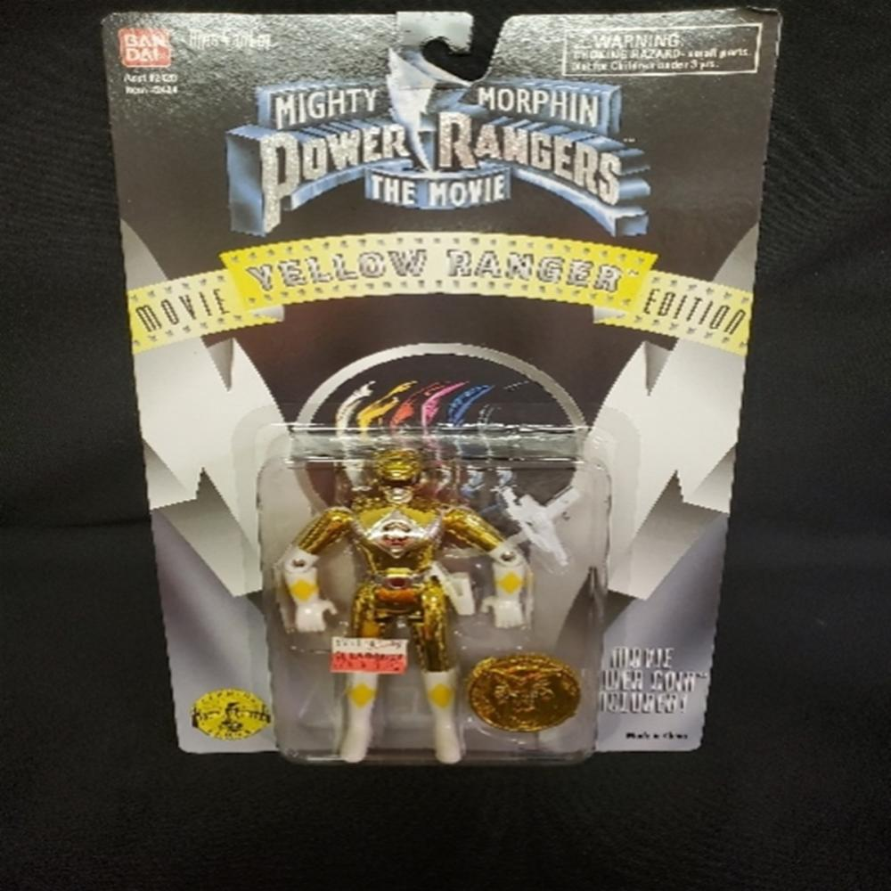 Mighty Morphin Power Rangers The Movie Yellow Rang