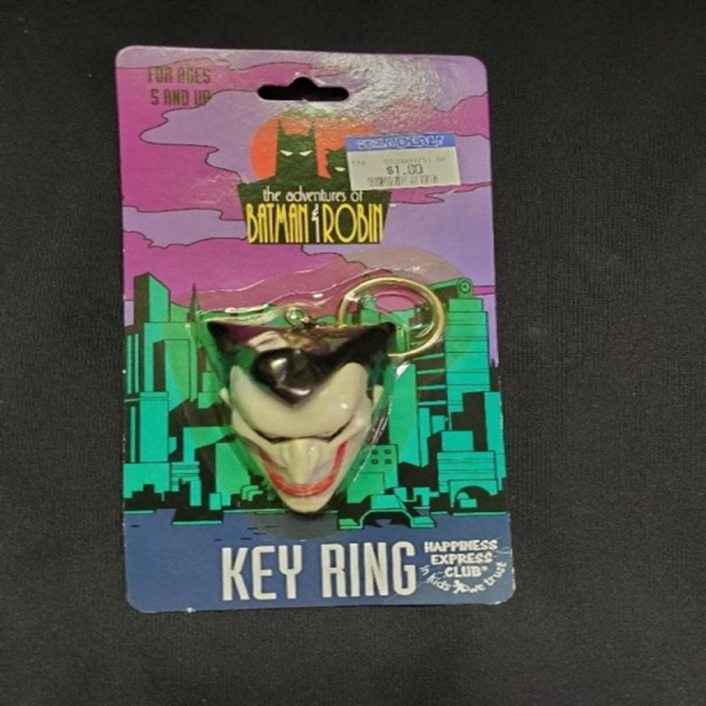 The Adventures of Batman & Robin JOKER Key Ring