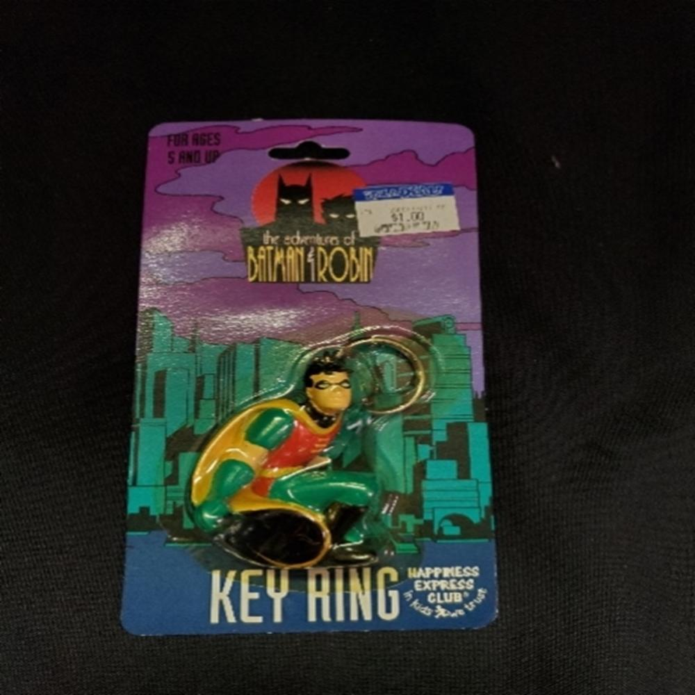 The Adventures of Batman & Robin ROBIN Key Ring