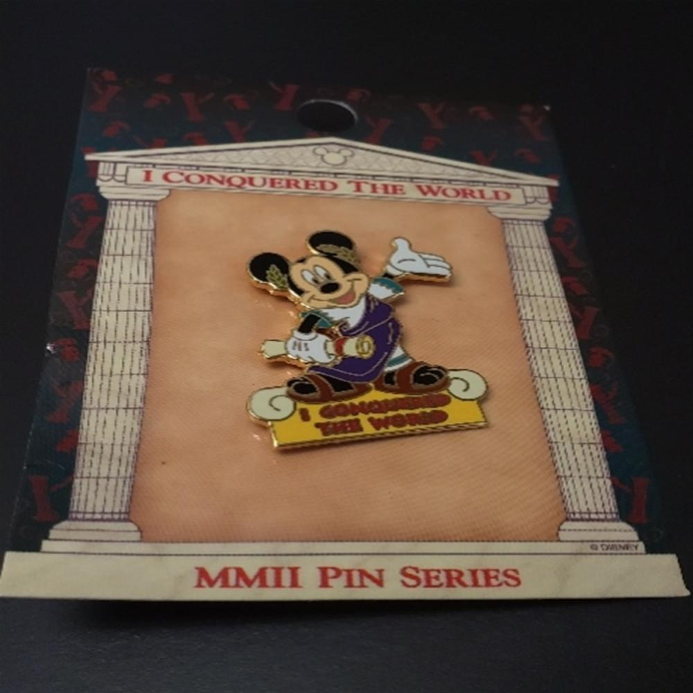 WDW - I Conquered The World Pin Pursuit (Mickey)