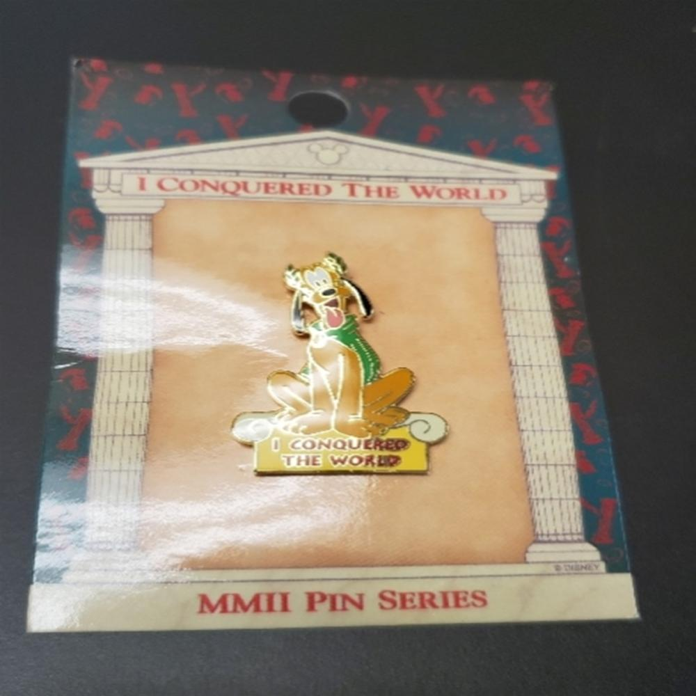WDW - I Conquered The World Pin Pursuit (Pluto)