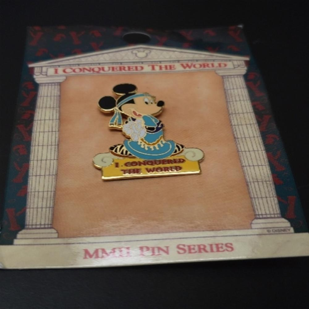 WDW - I Conquered The World Pin Pursuit (Minnie)