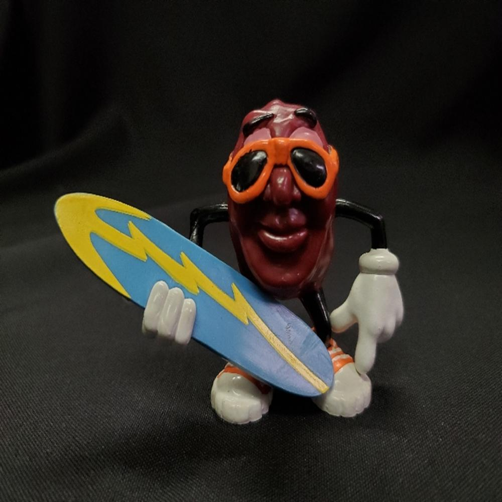 RARE California Raisin with Blue Surfboard