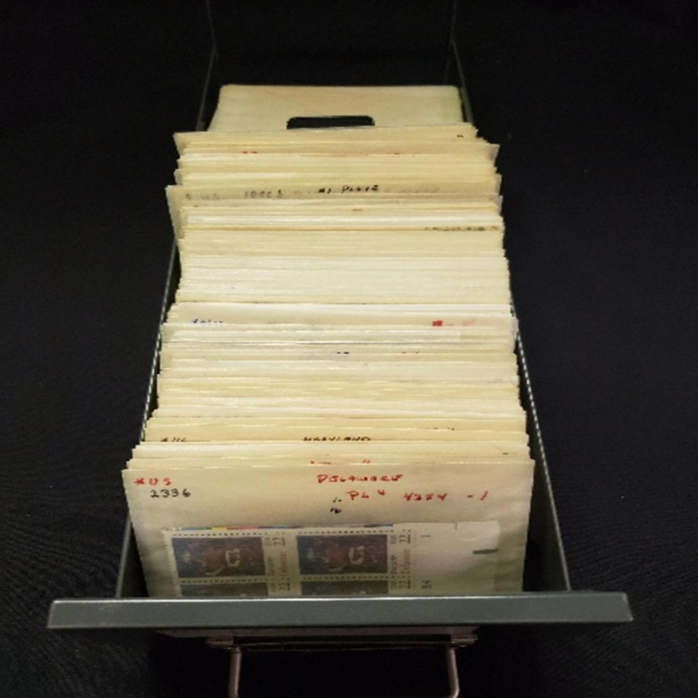 USPS Cataloged Philetelic Stamp Collection